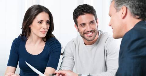 stel in gesprek met hypotheekadviseur